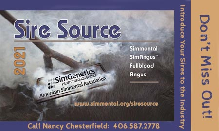 Advertise in Sire Source. Call Nancy at 406.587.2778.